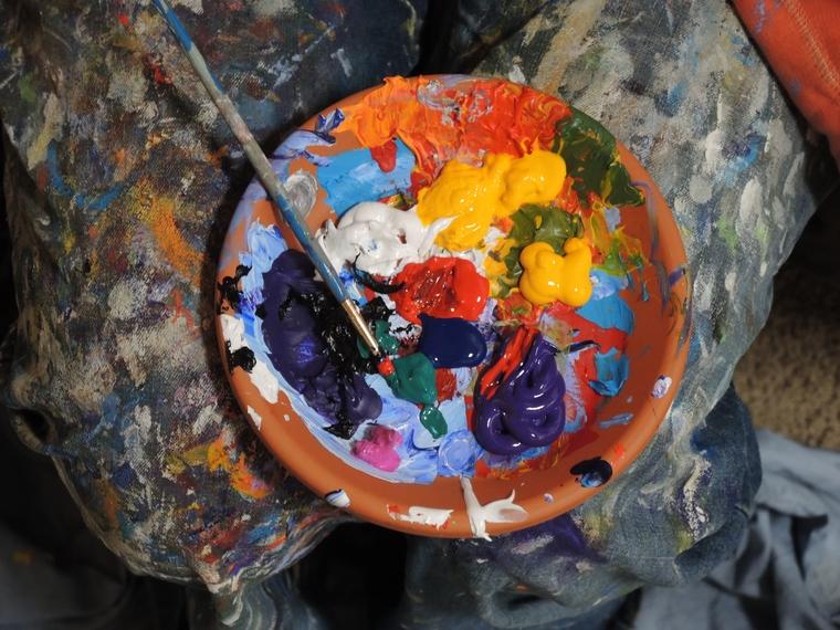 kreative sysler virker terapeutisk
